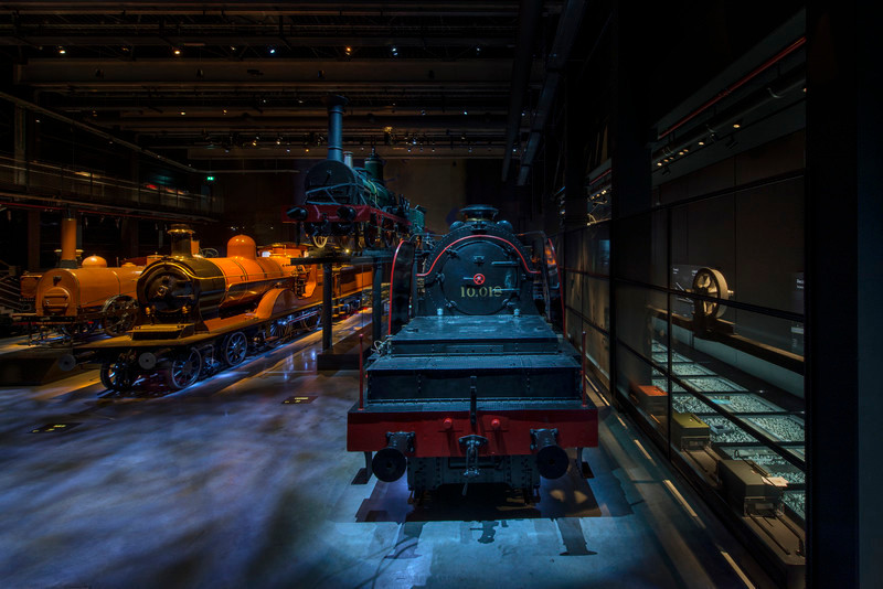 Newsroom - Press release - Multisensory experience at the new Belgian railway museum Train World - Lightemotion