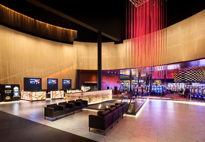 Press kit - Press release - An immersive Lighting design for the Lac-Leamy Casino - Lightemotion