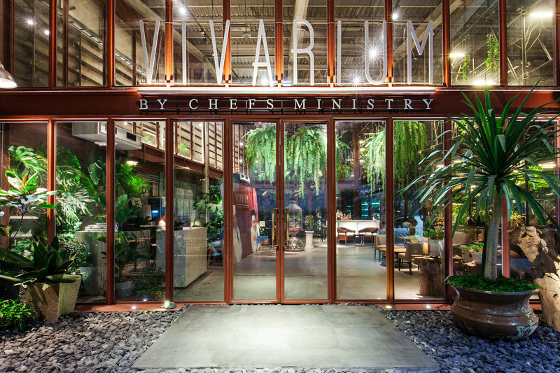 Press kit - Press release - 'Vivarium' - A Tractor Warehouse Turned Restaurant by Hypothesis Won the INSIDE Award 2015 - Hypothesis