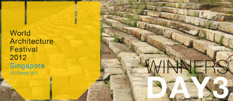 Press kit - Press release - 2012 Winners announcedDay three - World Architecture Festival (WAF)