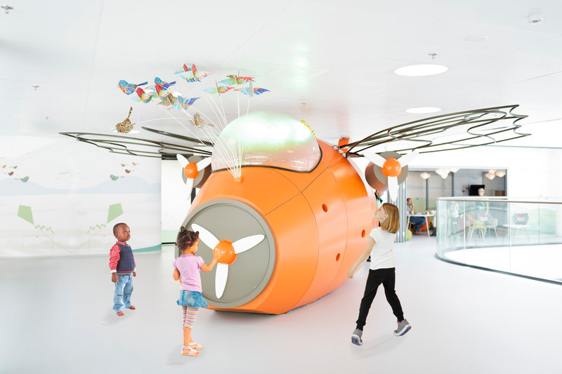Press kit - Press release - Tinker imagineers overall winner of SBID International Design Awards 2015 with its experience design for the Juliana Children's Hospital - Tinker imagineers