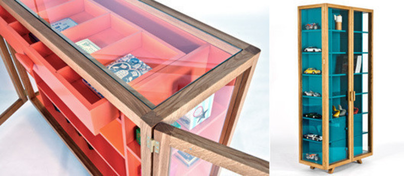 Press kit - Press release - Vitrina Collection Colour through the looking glass - H for Case Furniture