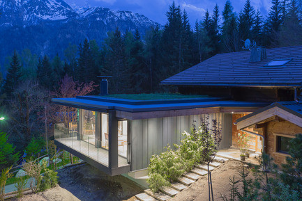 Press kit - Press release - Chalet SOLEYÂ - Chevallier Architectes