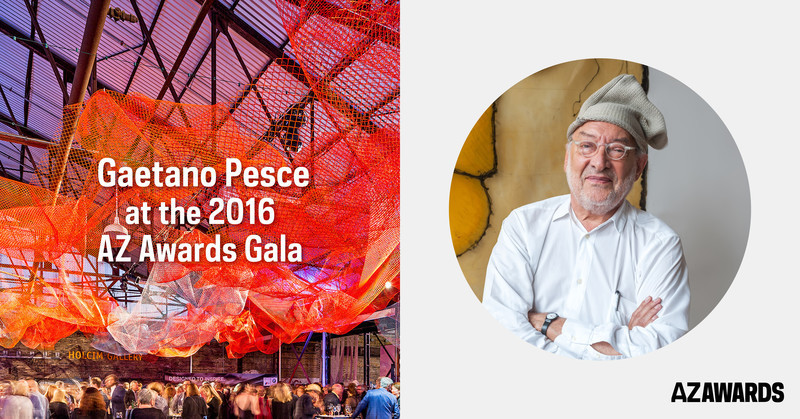 Press kit - Press release - Winners of the Sixth Edition of the AZ Awards to be announced at a Gala reception on June 17, in the company of guest of honour Gaetano Pesce - Azure Magazine