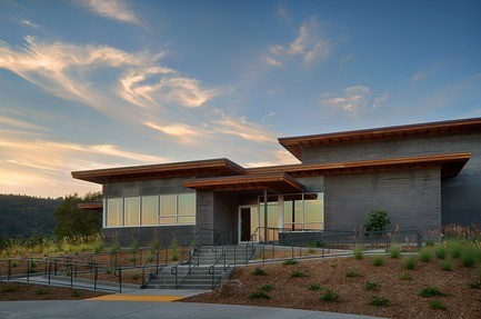 Press kit - Press release - Titus Vineyards - MH Architects
