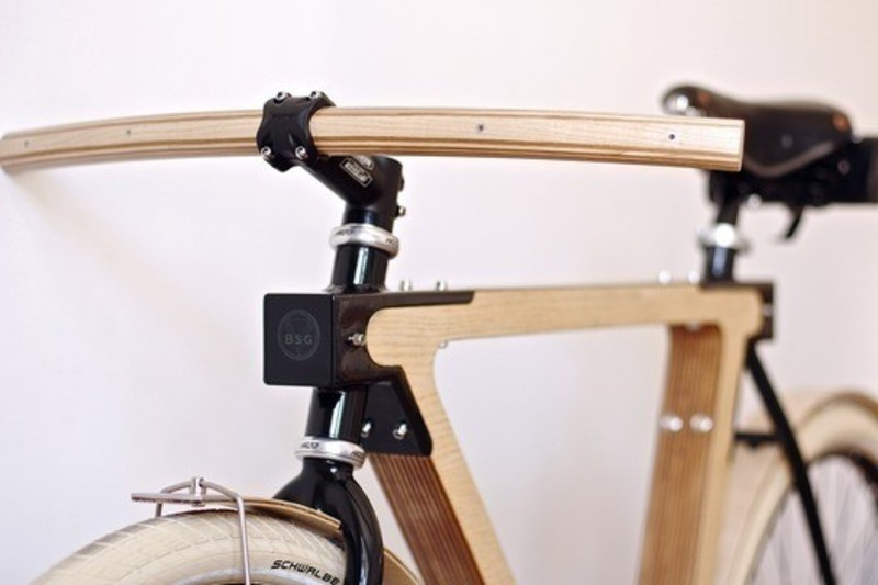 Press kit - Press release - WOOD.b Handmade Wooden Bike - BSG BIKES