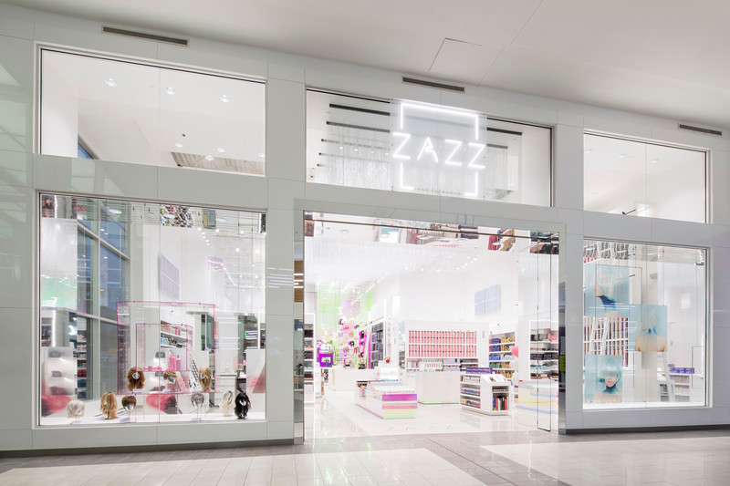 Newsroom - Press release - Zazz Boutique: An Iridescent Salon - Hatem+D