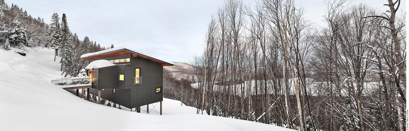 Press kit - Press release - Laurentian Ski Chalet - RobitailleCurtis