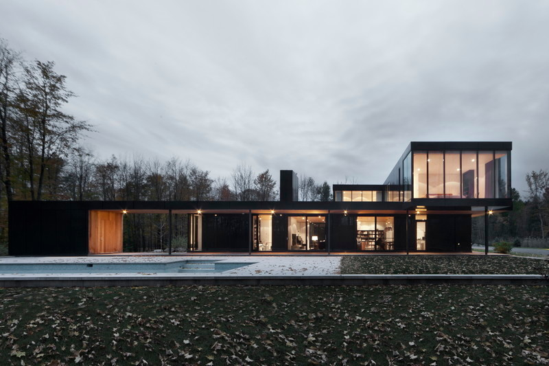 Press kit - Press release - Rosenberry residence - Les architectes FABG