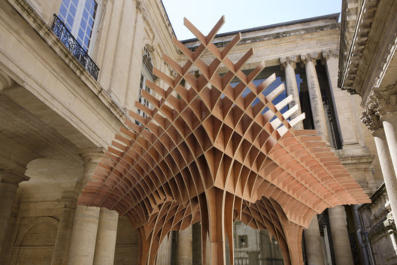 Newsroom - Press release - The pavilions of the FAV 2013 - MontpellierRobin Juzon Architecte - Association Champ Libre - Festival des Architectures Vives (FAV)