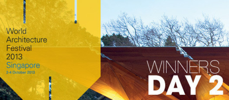 Press kit - Press release - 2013 Winners announcedDay two - World Architecture Festival (WAF)
