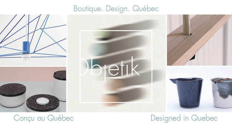 Press kit - Press release - Objetik: An Online Space for Quebec Design - Objetik