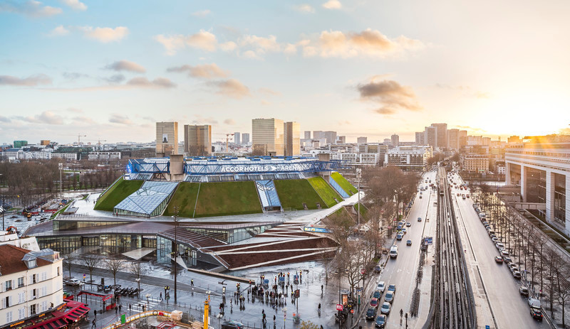 Press kit - Press release - The AccorHotels Arena - DVVD architecture, design and engineering agency