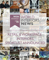 Press kit - Press release - WIN Awards - Retail & Workspace Interiors Shortlist Announced - World Interiors News
