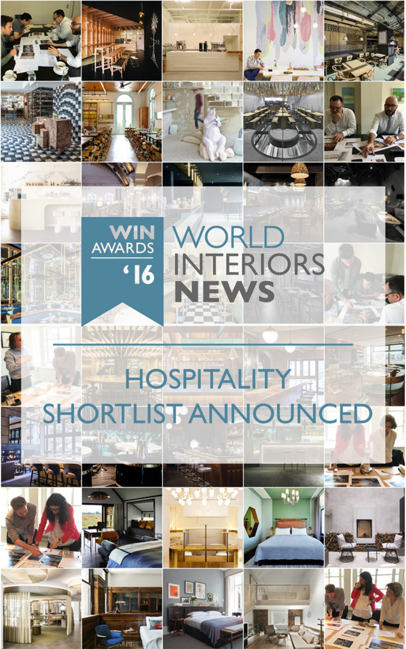 Newsroom - Press release - WIN Awards - Hospitality Shortlist Announced - World Interiors News