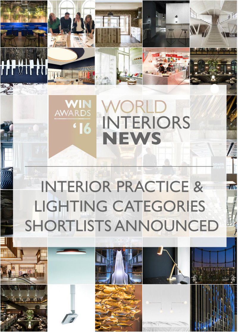 Newsroom - Press release - WIN Awards - Interior Practice & Lighting Categories Shortlists Announced - World Interiors News