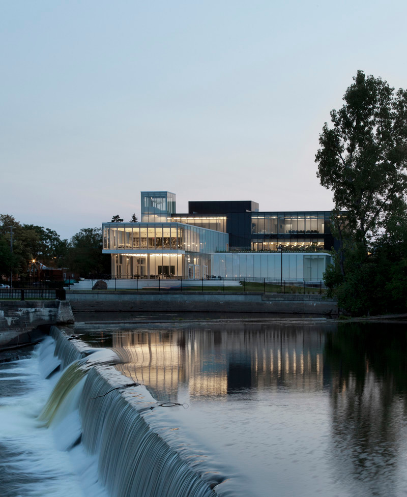 Press kit - Press release - Joliette art Museum - Les architectes FABG
