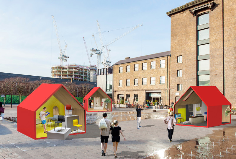 Press kit - Press release - designjunction brings immersive design experiences and its first open-air party to King's Cross - designjunction