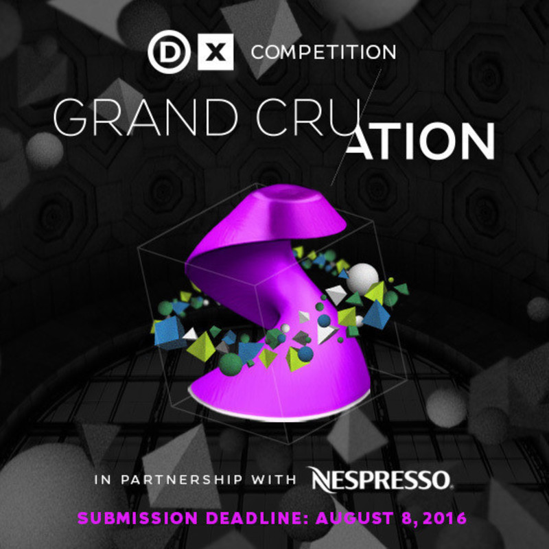 Newsroom - Press release - Call for Submissions: Grand Cru/ation | A Design Exchange Competition in Partnership with Nespresso - Design Exchange, Canada's Design Museum