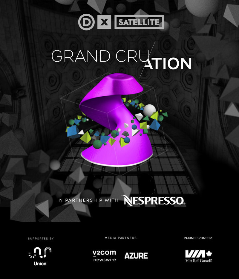 Press kit - Press release - Design Exchange Presents Grand Cru/ation - A New DX Satellite Exhibition in Partnership with Nespresso - Design Exchange, Canada's Design Museum