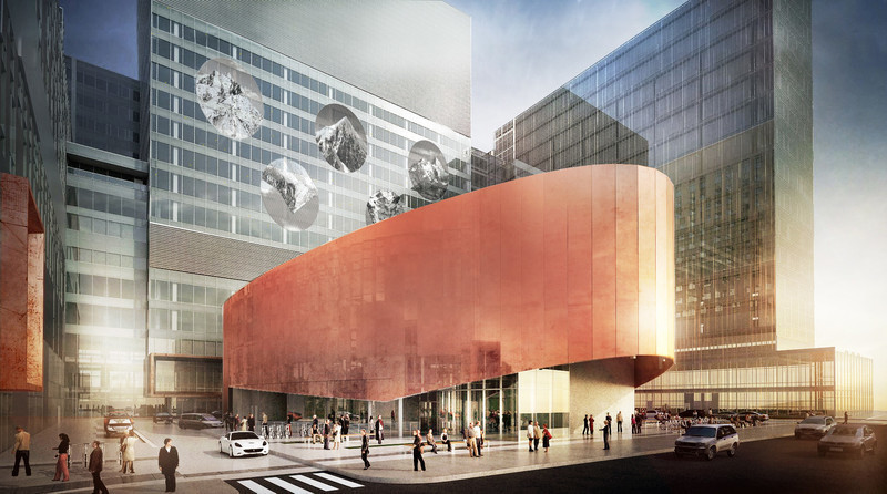 Newsroom - Press release - CannonDesign + NEUF architect(e)s lifts the veil on Montreal's CHUM - the largest healthcare construction project in North America - CannonDesign + NEUF architect(e)s