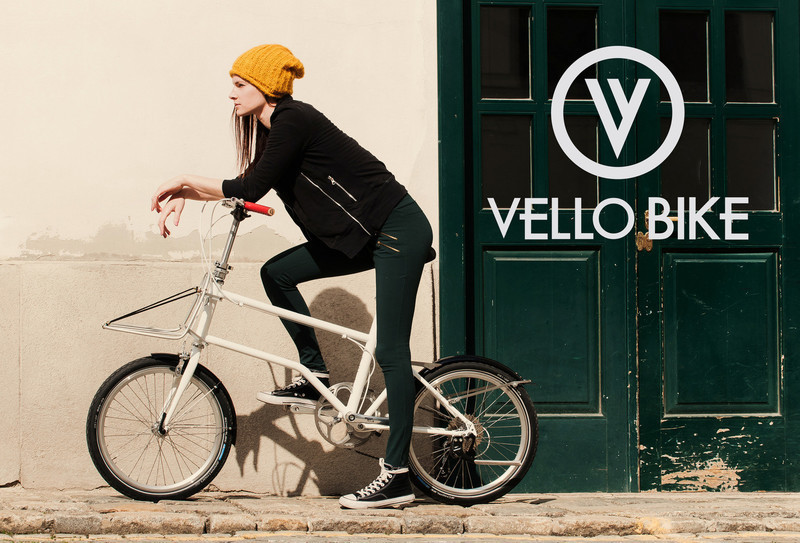 Press kit - Press release - The World's First Self-Charging Electric Folding Bike - VELLO bike+