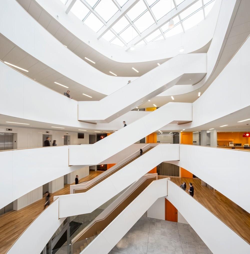 Menkès shooner dagenais letourneux architectes wins best of canada design award for ericssons new montreal office