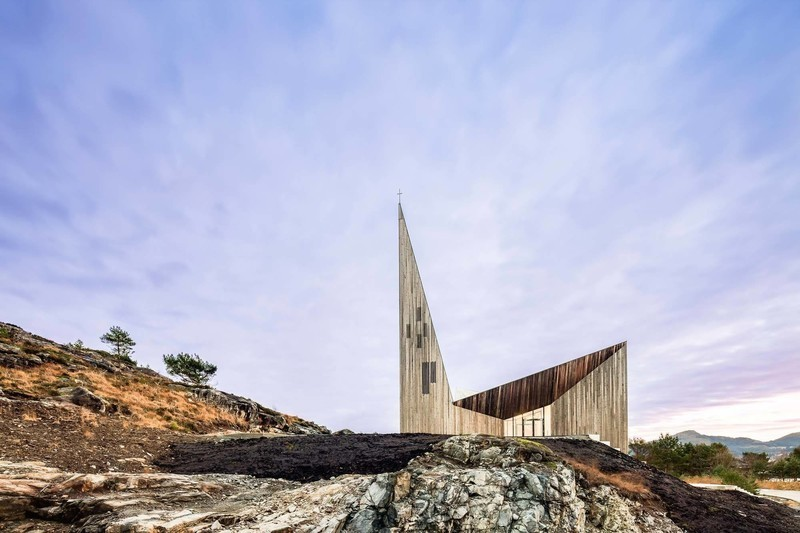 Press kit - Press release - Knarvik Community Church - Reiulf Ramstad Arkitekter