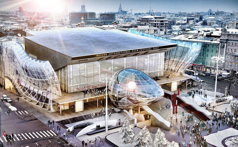 Press kit - Press release - Pushkinsky International Cinema Hall at Moscow - Revitalization - MetropolitanmomentuM