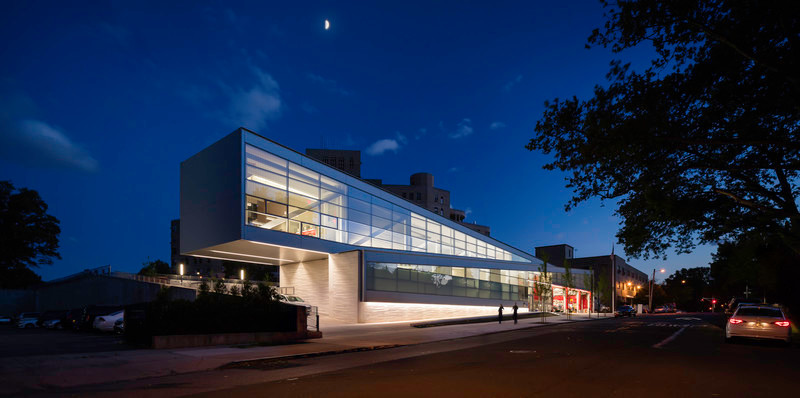 Press kit - Press release - Restless Response: Emergency Medical Station 50 at Queens Hospital - Dean/Wolf Architects