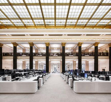 Press kit - Press release - The National Bank Unveils its New Montreal Trading Floor - Architecture49