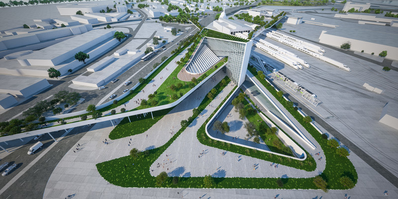 Newsroom - Press release - Izmir Transportation Hub - Eray Carbajo