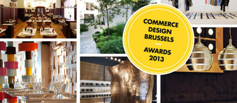 Press kit - Press release - Appel à projetsCommerce Design Brussels Award 2013 - Commerce Design Brussels