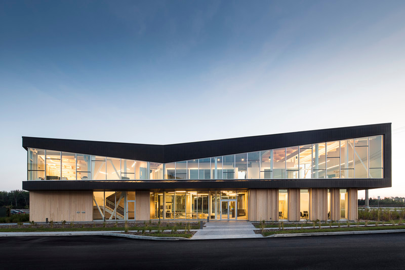 Newsroom - Press release - Lemay Wins 2017 American Architecture Prize for Design of Pomerleau Offices - Lemay