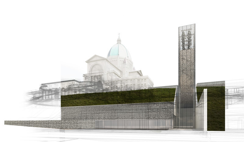 Press kit - Press release - Second Major Award Distinguishes Architectural Concept for Saint Joseph's Oratory of Mount Royal - Lemay