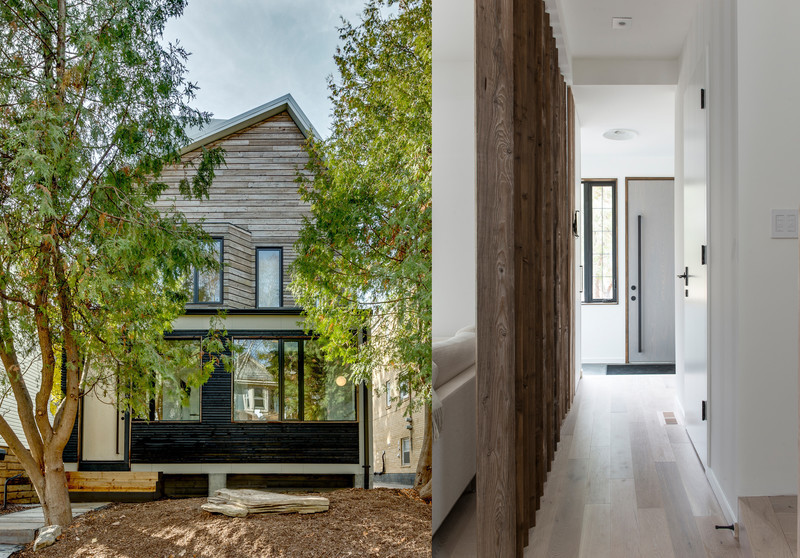 Press kit - Press release - 46H - Sustainable Reinvention of  1905 House in the Beaches - baukultur/ca