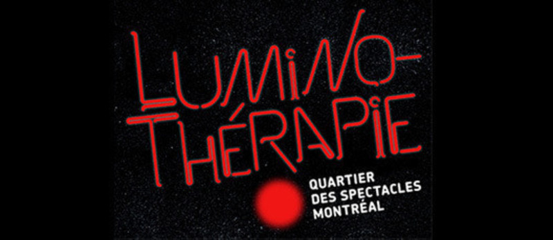 Press kit - Press release - Luminothérapie competition: call for proposals - Bureau du design - Ville de Montréal