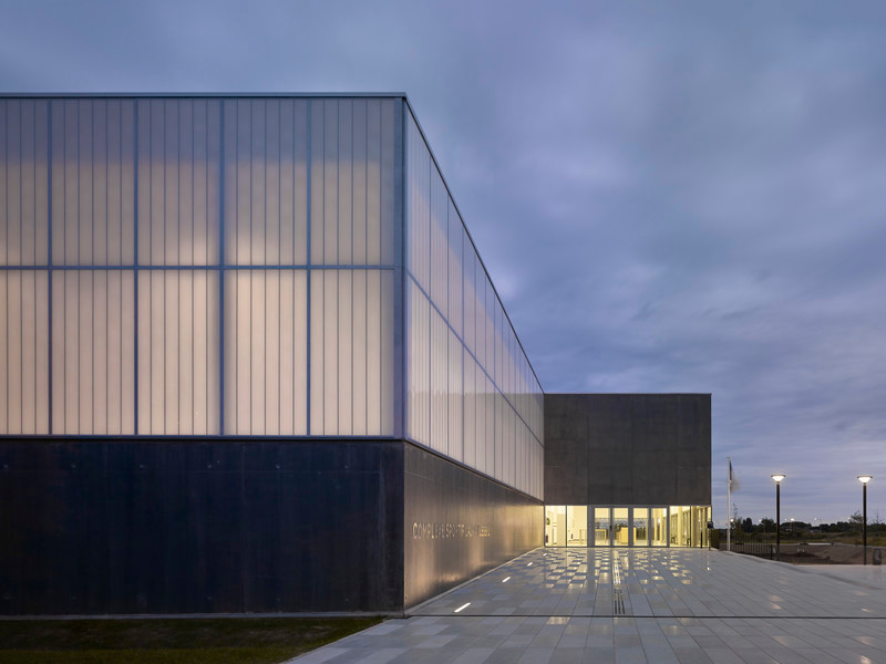 Press kit - Press release - Sports Complex in Bussy Saint-Georges - Martin Duplantier Architectes
