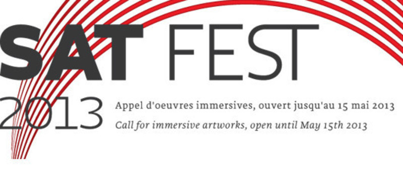 Newsroom - Press release - Submit your artwork for the new edition of SAT Fest! - Society for Arts and Technology (SAT)