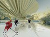 Press kit - Press release - Photovoltaic Ice Skating Rink - Margot Krasojević Architects