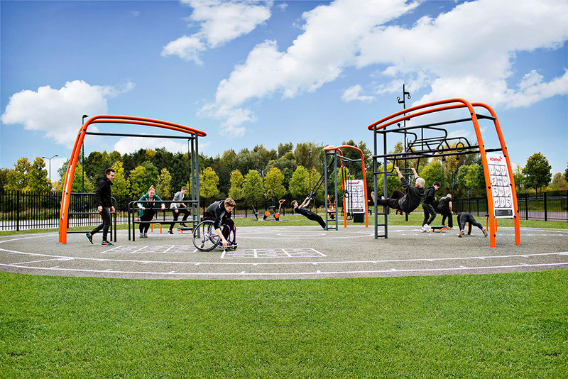 Press kit - Press release - New Outdoor Fitness is a Game Changer - KOMPAN