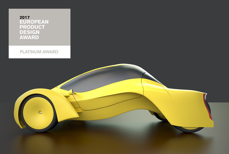 Press kit - Press release - Dubai based Designer Niko Kapa wins Top Prize at European Product Design Awards - Studio Niko Kapa