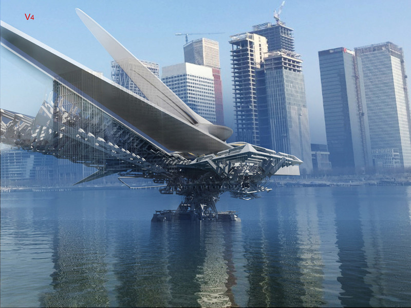 Dossier de presse - Communiqué de presse - Revolving Sail Bridge - Margot Krasojević Architects