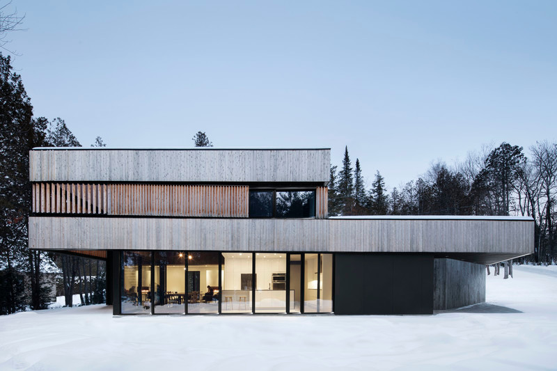 "Newsroom - Press release - ""Maison sur le Lac"" - ACDF Architecture"