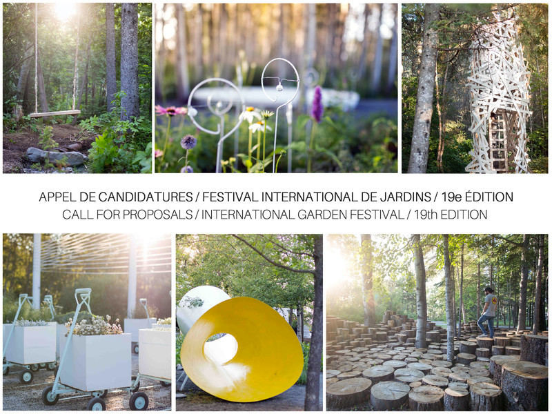 Press kit - Press release - Call for Proposals - 19th International Garden Festival at the Reford Gardens - International Garden Festival / Reford Gardens