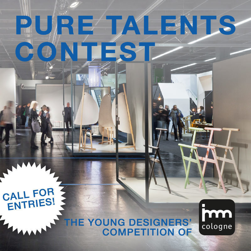 Press kit - Press release - imm cologne's 15th Pure Talents Contest is Now Open for Entries - imm cologne 2018, Koelnmesse