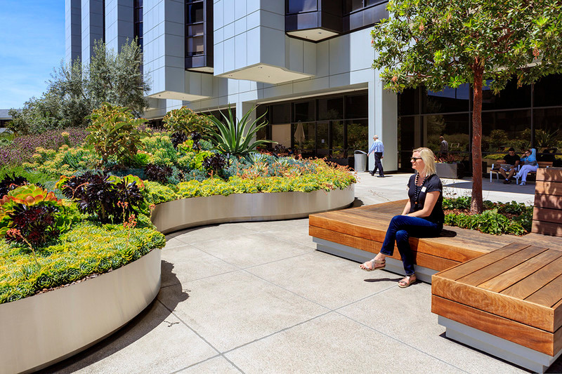 Newsroom - Press release - AHBE Landscape Architects Unveils Healing Gardens for Cedars-Sinai Medical Center - AHBE Landscape Architects