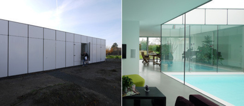 Press kit - Press release - (((DB))) House - Avignon-Clouet Architectes