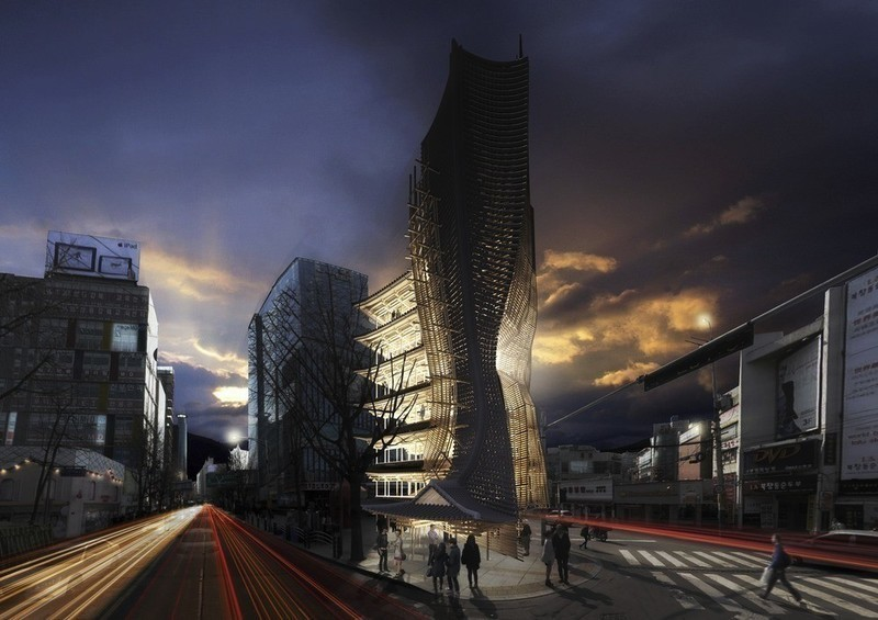 Press kit - Press release - Winner of the 2014 eVolo Skyscraper Competition Vernacular Versatility - Yong Ju Lee