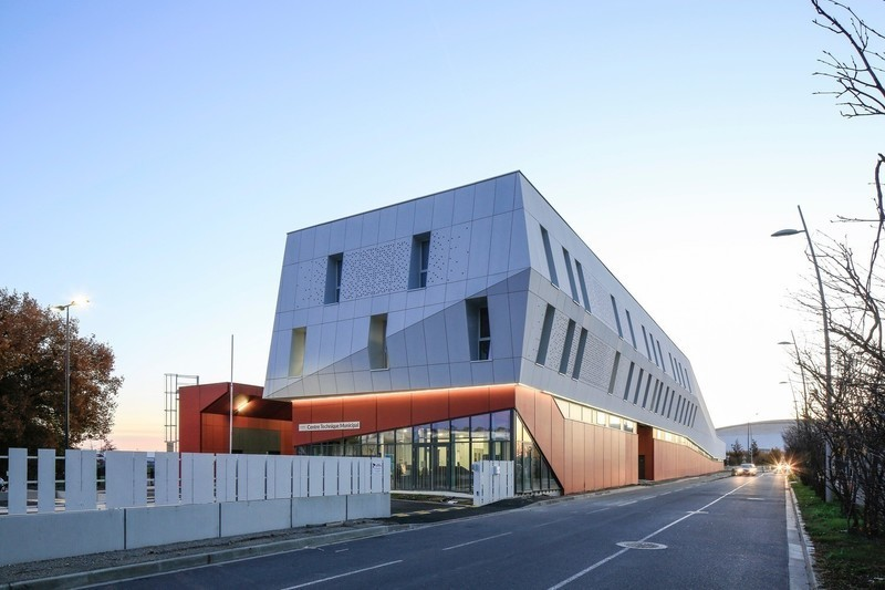 Newsroom - Press release - Technical Center of Blagnac (France) - NBJ architectes